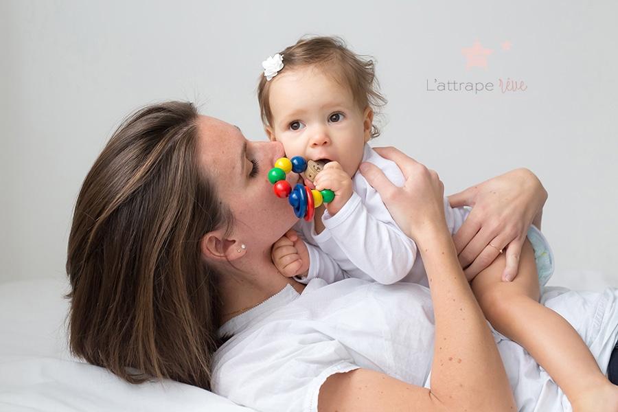 bisou maman bebe
