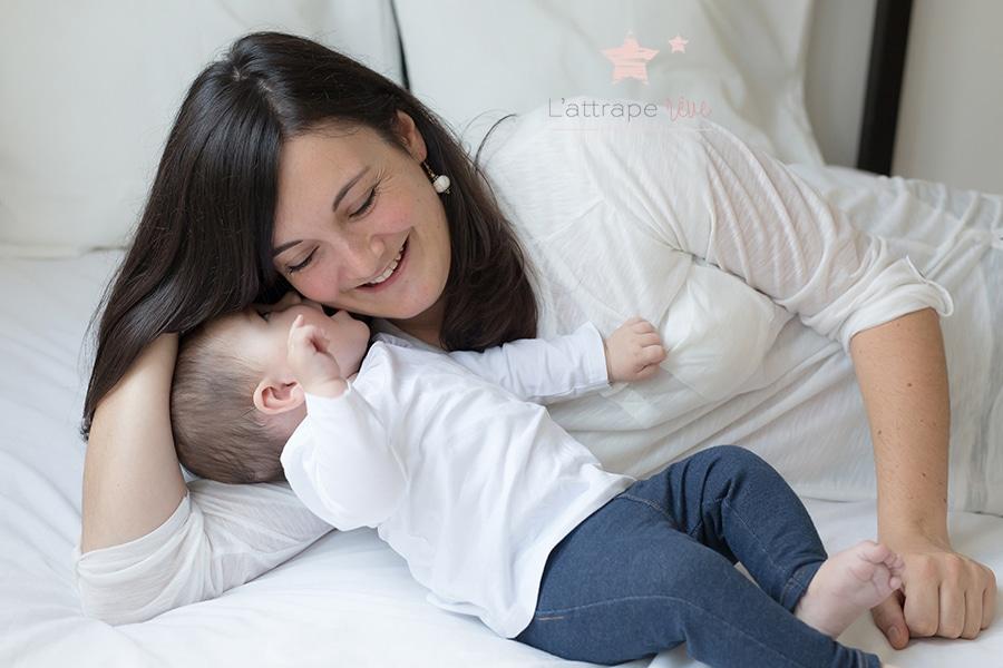 bisous maman bebe
