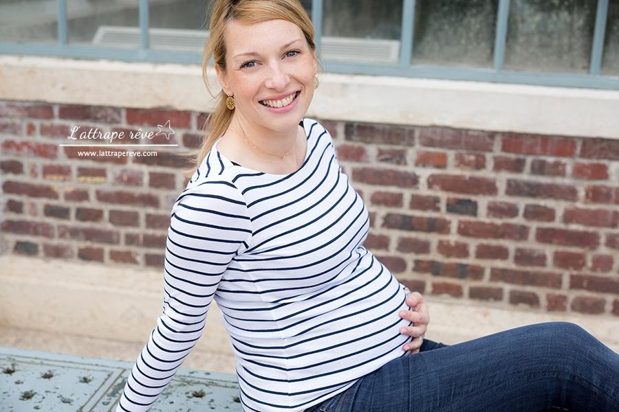 portrait naturel grossesse