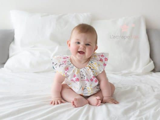 bebe souriant