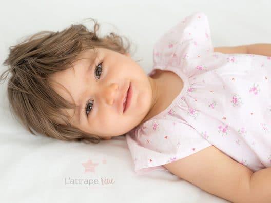 sourire fille vitaminée