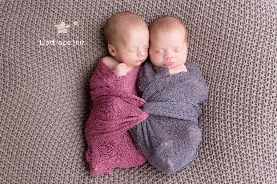 portraits magiques jumeaux
