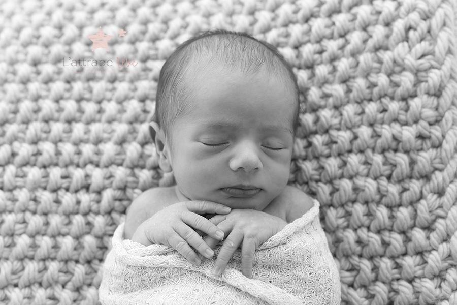 nouveau né endormit