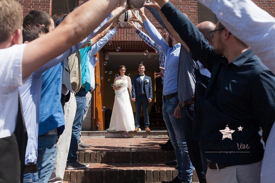 sortie mariés
