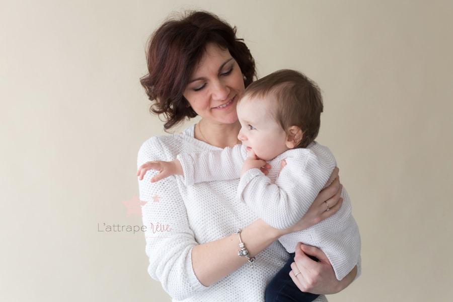 portrait mère enfant