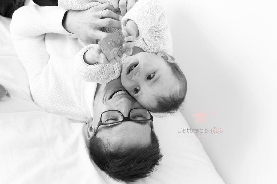 jouer avec son bebe