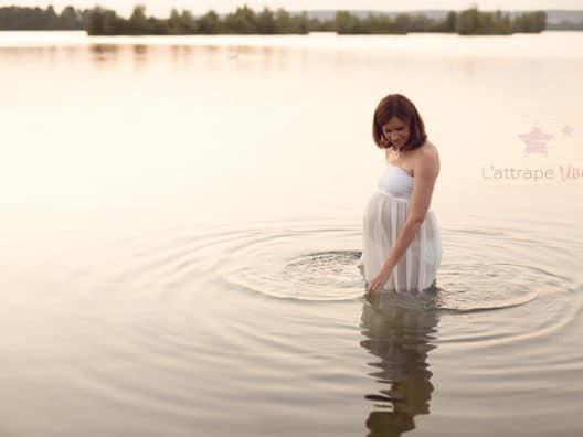 photo dans l'eau