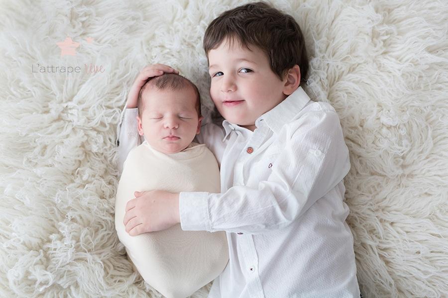 photo bebe et frère