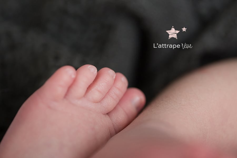 pied bébé