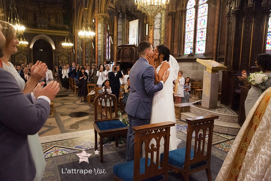 reportage eglise mariage