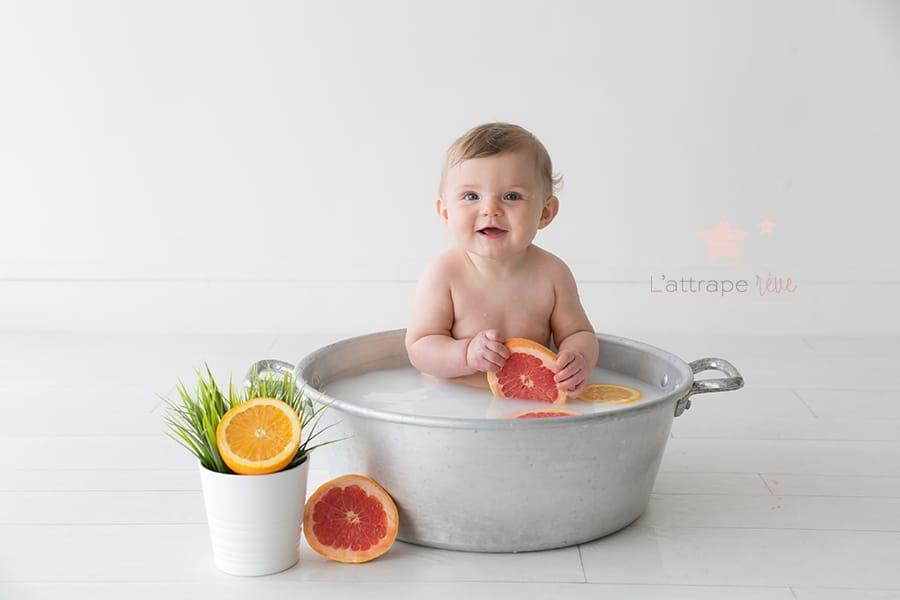 bain de lait douceur