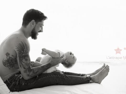 papa tatoue bebe